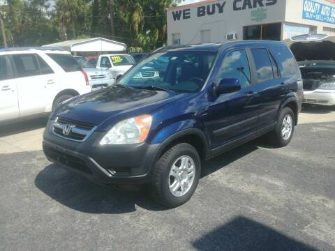 2004 Honda CR-V for sale at QUALITY AUTO SALES OF FLORIDA in New Port Richey FL