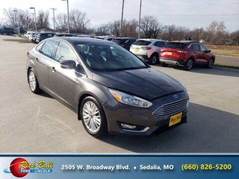 2015 Ford Focus for sale at RICK BALL FORD in Sedalia MO