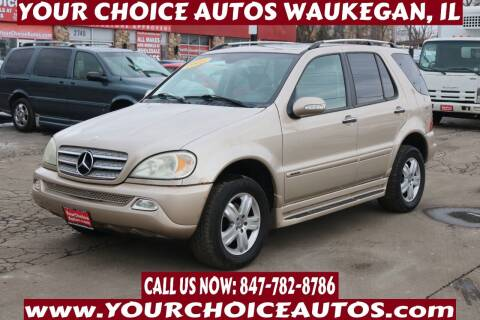 2005 Mercedes-Benz M-Class for sale at Your Choice Autos - Waukegan in Waukegan IL