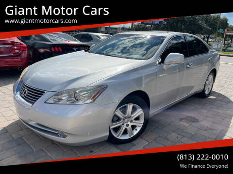 2007 Lexus ES 350 for sale at Giant Motor Cars in Tampa FL