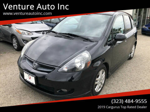 2008 Honda Fit for sale at Venture Auto Inc in South Gate CA