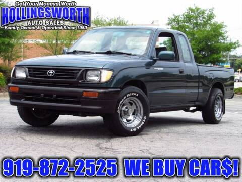1995 Toyota Tacoma for sale at Hollingsworth Auto Sales in Raleigh NC