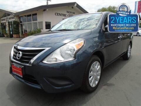 2016 Nissan Versa for sale at Centre City Motors in Escondido CA