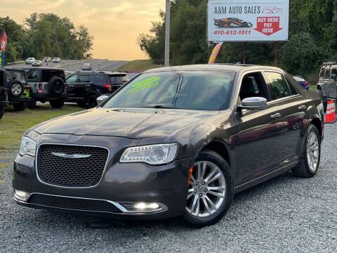 2016 Chrysler 300 for sale at A&M Auto Sales in Edgewood MD