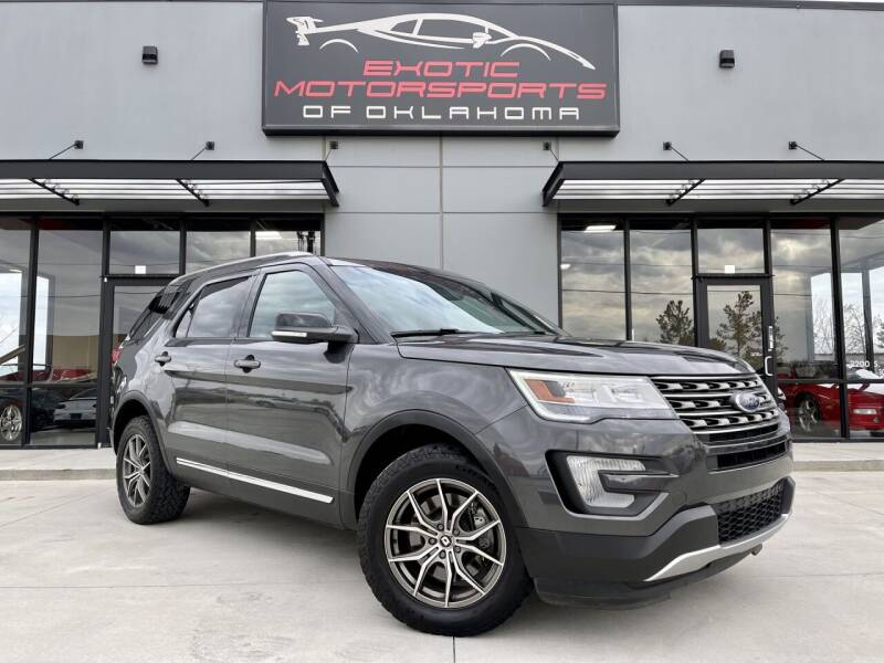 2016 Ford Explorer for sale at Exotic Motorsports of Oklahoma in Edmond OK