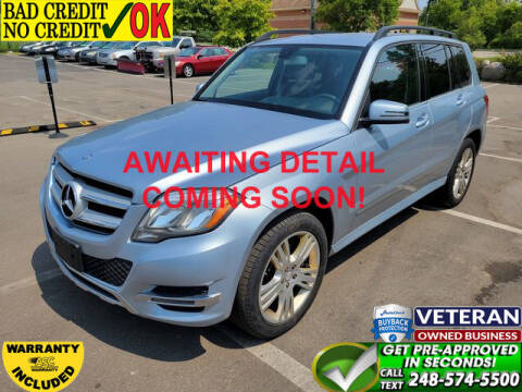 2013 Mercedes-Benz GLK for sale at North Oakland Motors in Waterford MI