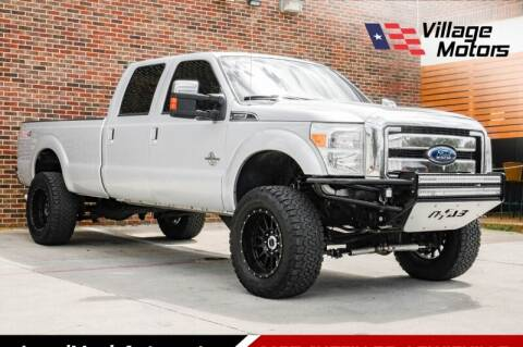 2014 Ford F-350 Super Duty for sale at Village Motors in Lewisville TX