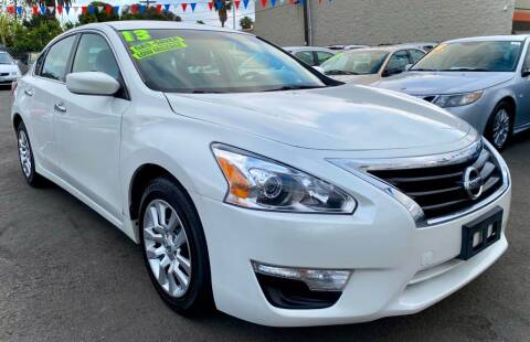 2013 Nissan Altima for sale at North County Auto in Oceanside CA