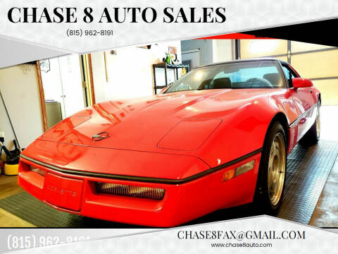 1990 Chevrolet Corvette for sale at Chase 8 Auto Sales in Loves Park IL