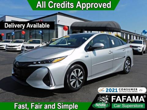2017 Toyota Prius Prime for sale at FAFAMA AUTO SALES Inc in Milford MA