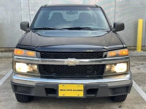 2005 Chevrolet Colorado for sale at Delta Auto Alliance in Houston TX