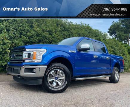 2018 Ford F-150 for sale at Omar's Auto Sales in Martinez GA