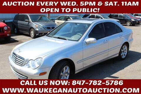 2007 Mercedes-Benz C-Class for sale at Waukegan Auto Auction in Waukegan IL