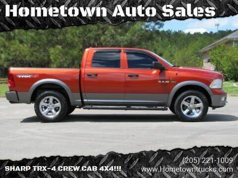 2009 Dodge Ram Pickup 1500 for sale at Hometown Auto Sales - Trucks in Jasper AL