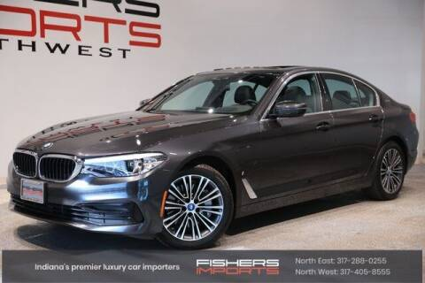 2019 BMW 5 Series for sale at Fishers Imports in Fishers IN