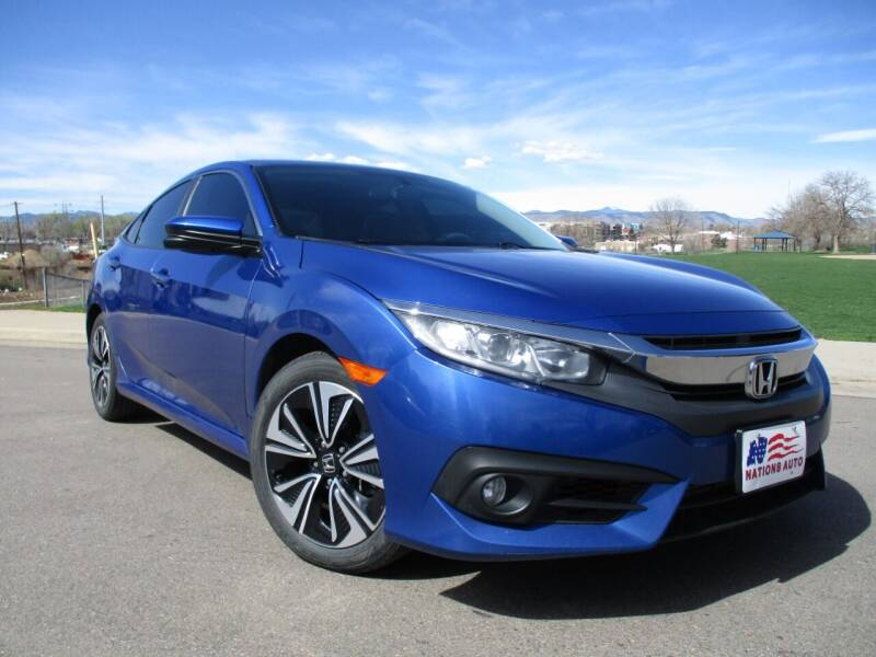 2017 Honda Civic for sale at Nations Auto in Lakewood CO