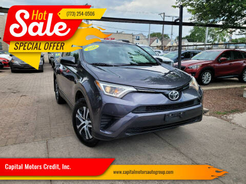 2016 Toyota RAV4 for sale at Capital Motors Credit, Inc. in Chicago IL