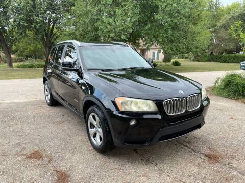 2011 BMW X3 for sale at CARWIN MOTORS in Katy TX