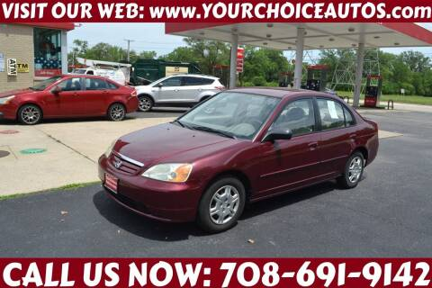 2002 Honda Civic for sale at Your Choice Autos - Crestwood in Crestwood IL