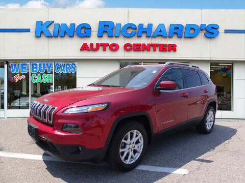 2014 Jeep Cherokee for sale at KING RICHARDS AUTO CENTER in East Providence RI