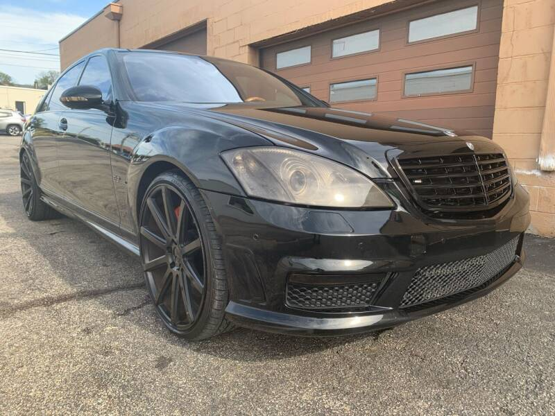 2009 Mercedes-Benz S-Class for sale at Martys Auto Sales in Decatur IL