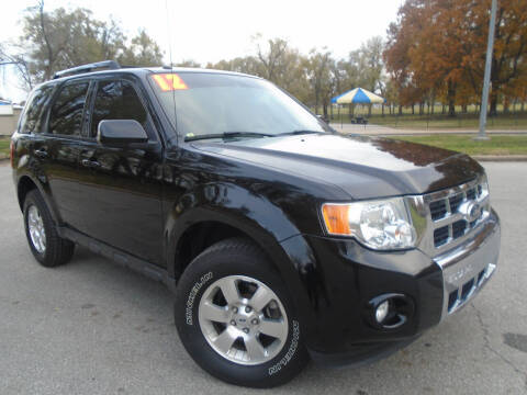 2012 Ford Escape for sale at Sunshine Auto Sales in Kansas City MO