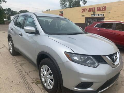2016 Nissan Rogue for sale at City Auto Sales in Roseville MI