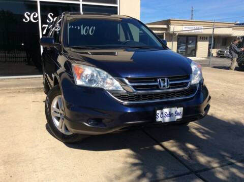 2010 Honda CR-V for sale at SC SALES INC in Houston TX