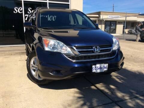 2010 Honda CR-V for sale at SC SALES INC in Houston TX
