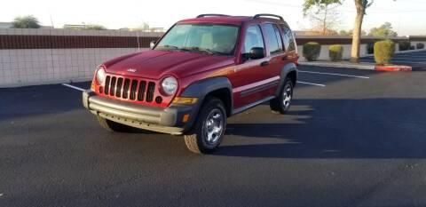 2007 Jeep Liberty for sale at Sooner Automotive Sales & Service LLC in Peoria AZ