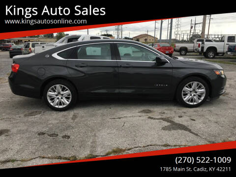 2014 Chevrolet Impala for sale at Kings Auto Sales in Cadiz KY