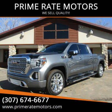 2019 GMC Sierra 1500 for sale at PRIME RATE MOTORS in Sheridan WY