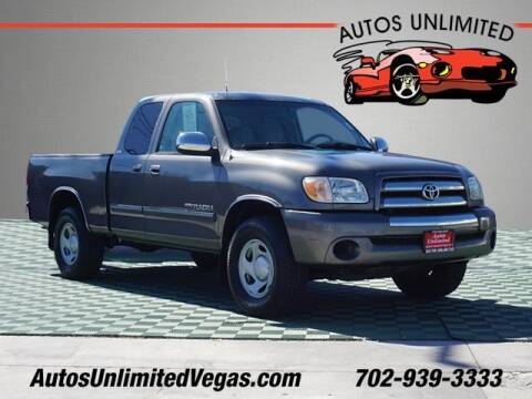 2005 Toyota Tundra for sale at Autos Unlimited in Las Vegas NV