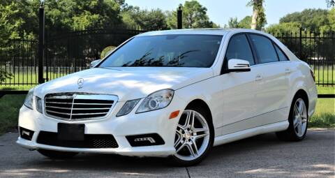 2011 Mercedes-Benz E-Class for sale at Texas Auto Corporation in Houston TX
