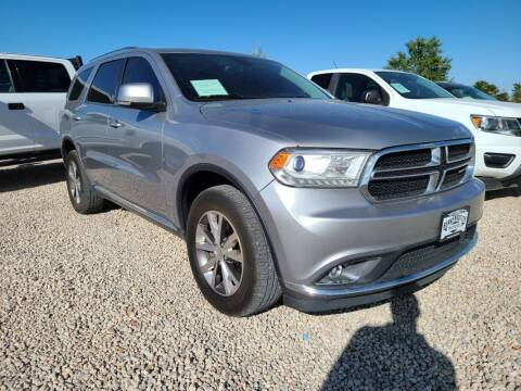 2016 Dodge Durango for sale at BERKENKOTTER MOTORS in Brighton CO