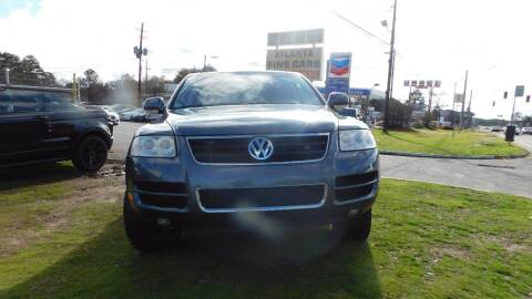 2004 Volkswagen Touareg for sale at Atlanta Fine Cars in Jonesboro GA