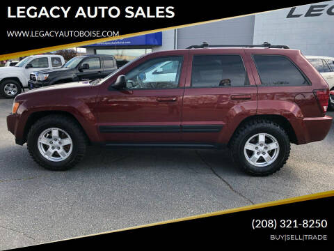 2006 Jeep Grand Cherokee for sale at LEGACY AUTO SALES in Boise ID