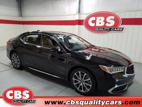 2018 Acura TLX for sale at CBS Quality Cars in Durham NC