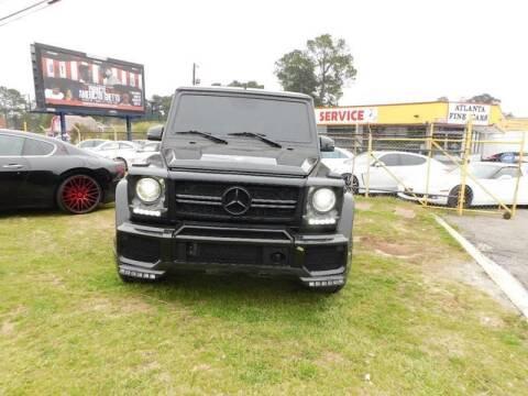 2009 Mercedes-Benz G-Class for sale at Atlanta Fine Cars in Jonesboro GA