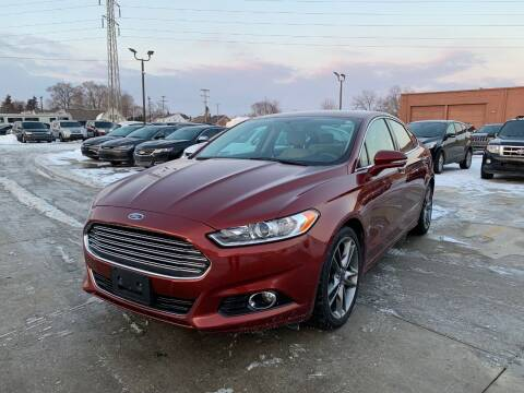 2014 Ford Fusion for sale at Crooza in Dearborn MI