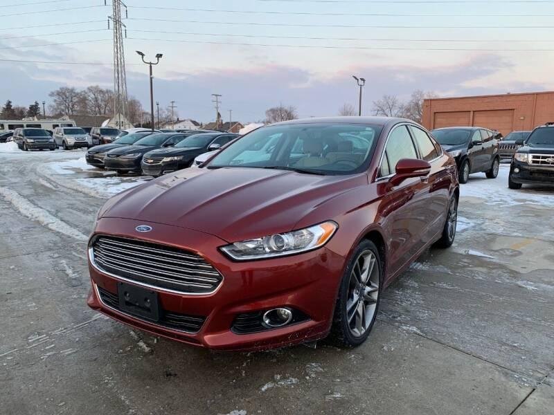 2014 Ford Fusion for sale at Crooza in Dearborn MI