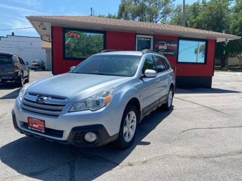 2013 Subaru Outback for sale at Big Red Auto Sales in Papillion NE