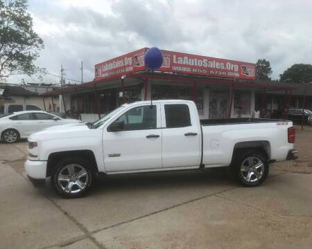 2018 Chevrolet Silverado 1500 for sale at LA Auto Sales in Monroe LA