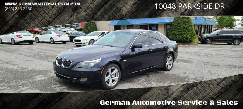2008 BMW 5 Series for sale at German Automotive Service & Sales in Knoxville TN