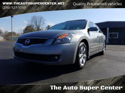 2007 Nissan Altima for sale at The Auto Super Center in Centre AL