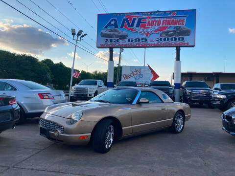 2005 Ford Thunderbird for sale at ANF AUTO FINANCE in Houston TX