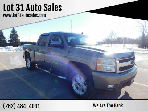 2008 Chevrolet Silverado 1500 for sale at Lot 31 Auto Sales in Kenosha WI