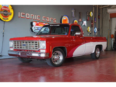 1975 Chevrolet Silverado Classic 1500 for sale at Iconic Motors of Oklahoma City, LLC in Oklahoma City OK