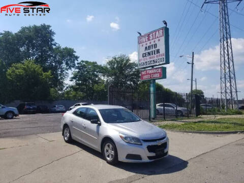 2015 Chevrolet Malibu for sale at Five Star Auto Center in Detroit MI