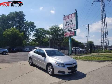 2015 Chevrolet Malibu for sale at Five Star Auto Center in Detroit MI